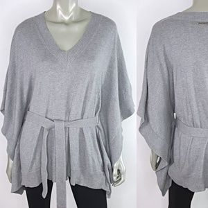 Michael Kors Angora Kimono Sweater Size Medium